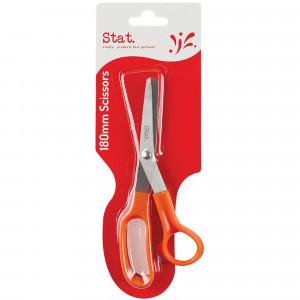 STAT SCISSORS ORANGE GRIP Orange 180mm