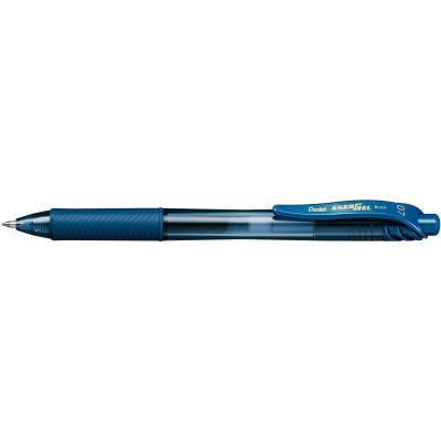 PENTEL ENERGEL X GEL INK PEN BL107 Retractable 0.7mm Navy