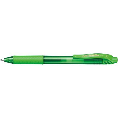 PENTEL ENERGEL X GEL INK PEN BL107 Retractable 0.7mm Lime Green