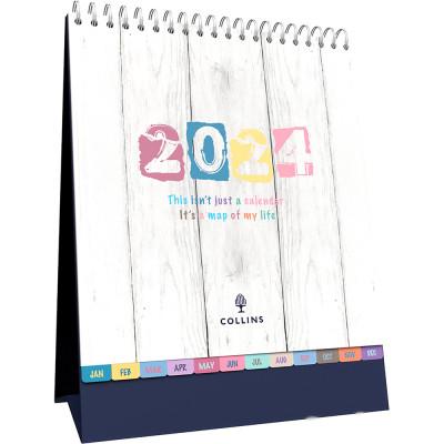 Collins Desktop Calendar 175x220mm Month To View Brighton