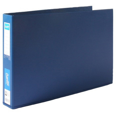 Bantex Binder A3 2D 38mm Landscape Blue
