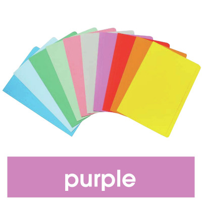 MARBIG MANILLA FOLDER F/Cap Purple