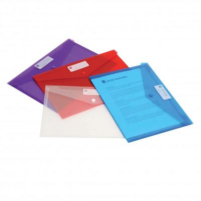 MARBIG DOCULOPE WALLET A4 Blue