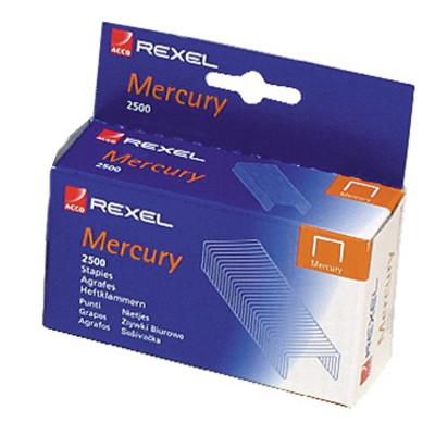Rexel Staples Heavy Duty  For Mercury Stapler Stainless Steel Box Of 2500