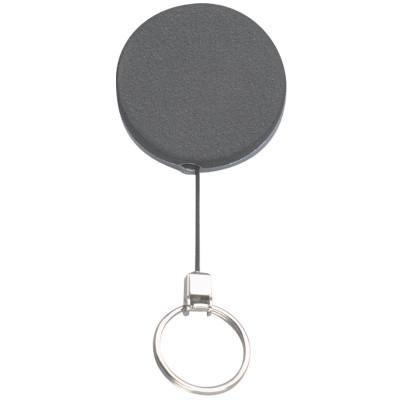 REXEL KEY/CARD HOLDER Retractable Metal 700mm Blk